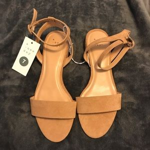 NWT a.newday sandals size 7 NWT